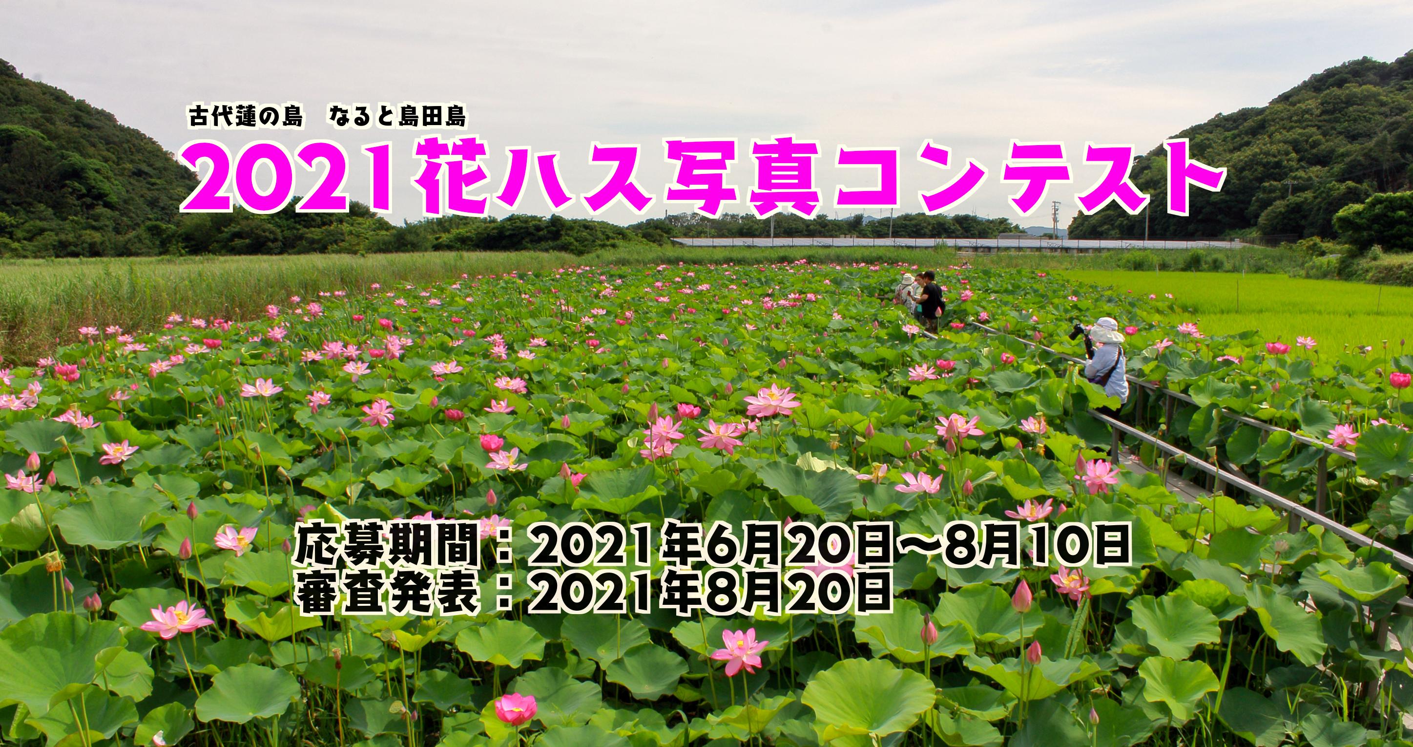 2021花ハス写真コンテスト応募要領